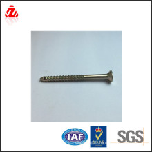 Color-plated zinc cross recessed pan head self tapping screw