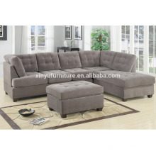 modern fabric living room sectional sofa XYN2065