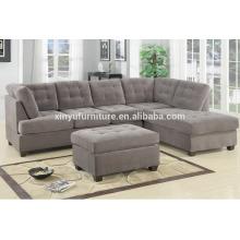 Современная ткань гостиной секционный диван XYN2065