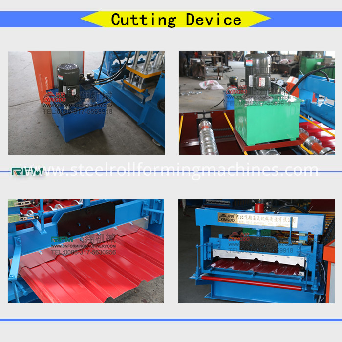 Roof Corrugated Sheet Roll Forming Machine