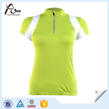 Vêtements de vélo à manches courtes personnalisés pour femmes