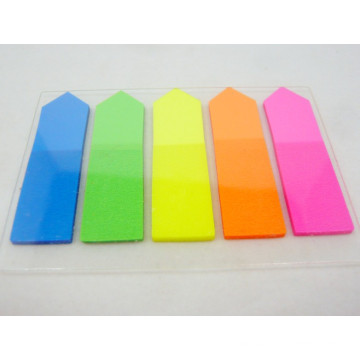 Office Stationery 5 Color Pet Arrow Index Sticky Notes