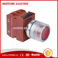 Interrupteur à bouton-poussoir pour lampe de poche à tête plate 29mm étanche 120v