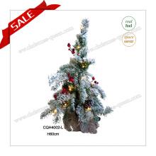 60 см светодиодное дерево рождественские праздничные огни рождественское украшение