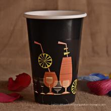 Taza de café caliente de las ventas con la tapa