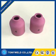 Pointes de torche de soudage buse en céramique tig 53N58 53N59 53N60