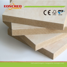 High Gloss MDF Melamine Board/Raw Plain MDF Decorative Wall Panel for Interior Door 2mm-30mm