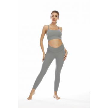 Leggings sans couture OEM Suit Ensembles de yoga pour femmes