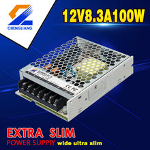 LED-transformator 12V 100W voor ledstrip