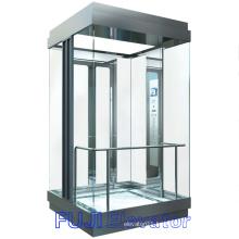 FUJI Panoramic Elevator (All glass square type)