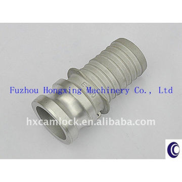 Produced by Gravity Casting and pass T6 Heat treatment Aluminum Camlock Coupling Type E