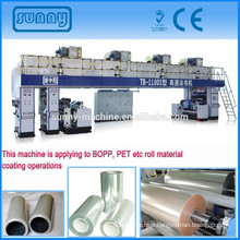 adhesive tape coating machine for BOPP model TB1100S