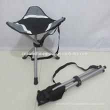 Haute qualité pliante chaise 3 jambes chaise de pêche