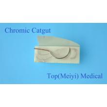 Chirurgische Naht mit Nadel - Chromic Catgut Chirurgische Naht