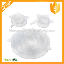Couvercles de cire de silicone en gros de qualité alimentaire
