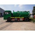 9000L 180HP Sewage Suction Tank Trucks