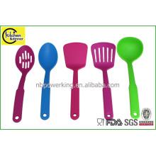 colorful nylon kitchen tools