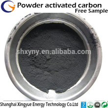 wood based activated crabon powder for alcohol purification