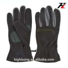 Long Wearing Mens Dark Fashion Biking Thinsulate Insulate Polar Fleece Glove