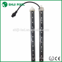 3D effect 360 degree RGB LED DMX pixel tube light