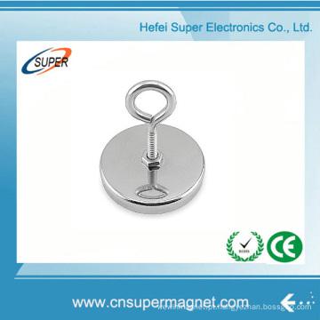 N35 20mm Gancho magnético de ímã de neodímio forte e poderoso