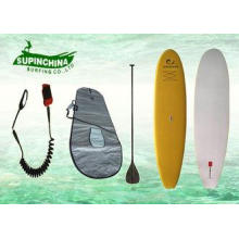 EPS core soft top sup boards , girls / big boy surfboards f