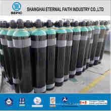 Cylindre de gaz en acier sans couture 40L (ISO9809 219-40-150)