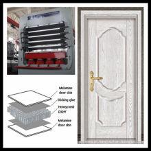 DY1200T-4X8-Prensas à prova de pele de porta de melamina laminada / Prensas de pele de porta moldada