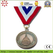 Custom Logo Round Sport Metal Medalet