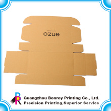 Guangzhou factory customized shoe paper brown craft box