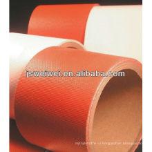 Китай силиконовая резина покрытием ткань стеклоткани ткань с супер ширина в разных цветах
