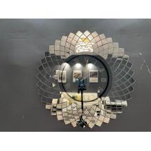 Decoración con espejo Reloj creativo de Mordenwall