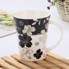 Caneca de cerâmica com estilo criativo personalizado