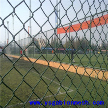 Cheaper  pvc coated chain link fence