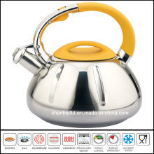 3 Step Capsule Bottom Stainless Steel Kettle