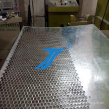 Перфорированный листовой металл из нержавеющей стали