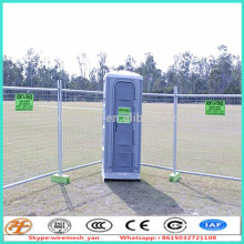 hot dipped galvanized 42 micron 7ftX8ft advertised temporary festival fence