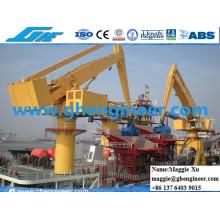 Ore Sand Fly Ash Gate Chargement et déchargement Hydraulic E Crane