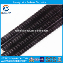 Made in China carbon steel black threaded rod