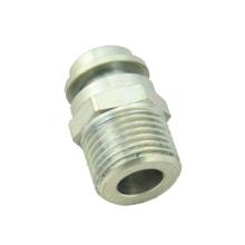 2 Achsen cnc maßgeschneiderte Stahlgewinde Teile