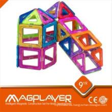 Juguetes educativos preescolares Bloques de construcción Puzzles magnéticos para el jardín de infantes