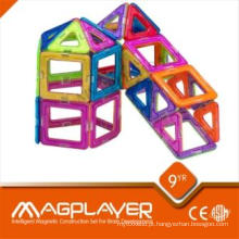 Brinquedos educativos pré-escolar Blocos de construção Puzzles magnéticos para jardim de infância