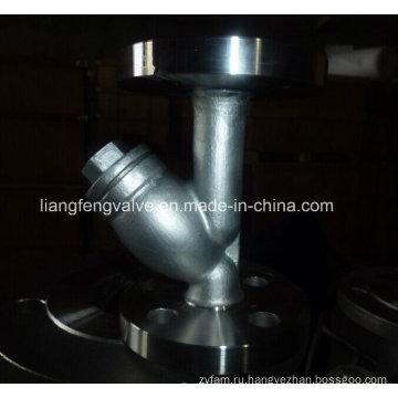 Углеродистая сталь Y-образный фильтр фланцевого конца RF