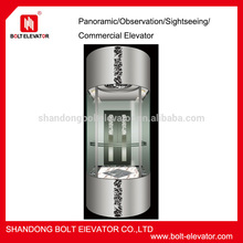 China VVVF Passenger Elevator,sightseeing elevator price