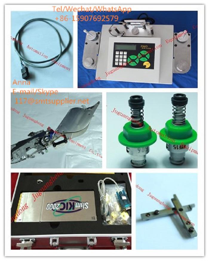 (J)SMT JUKI, FUJI, Yamaha,Samsung, Panasonin nozzle, feeder, spare feeder pare
