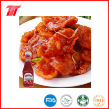 Ketchup de tomate en bouteille plastique 340 G de couleur naturelle