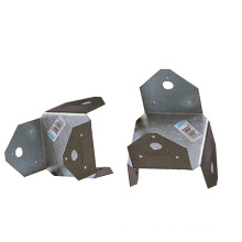 Stamping Q235B OEM 4*4 Columns Connector Aluminum Alloy Plate Sheet Fabrications Stamping