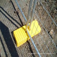 Временный забор Али Экспресс с мостиковой ножкой Австралийский стандарт