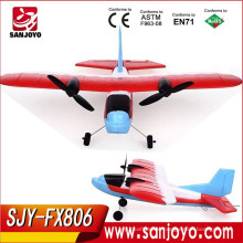 Super cool 2.4G foam rc glider Electric radio control model airplane Children's Toy Wholesale SJY-FX806