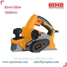 Cepillo de banco 82mm 650w 16000rpm qimo herramientas eléctricas